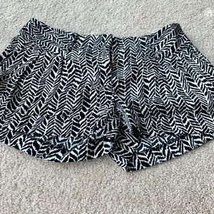 Express Shorts - Express Zebra Print Shorts